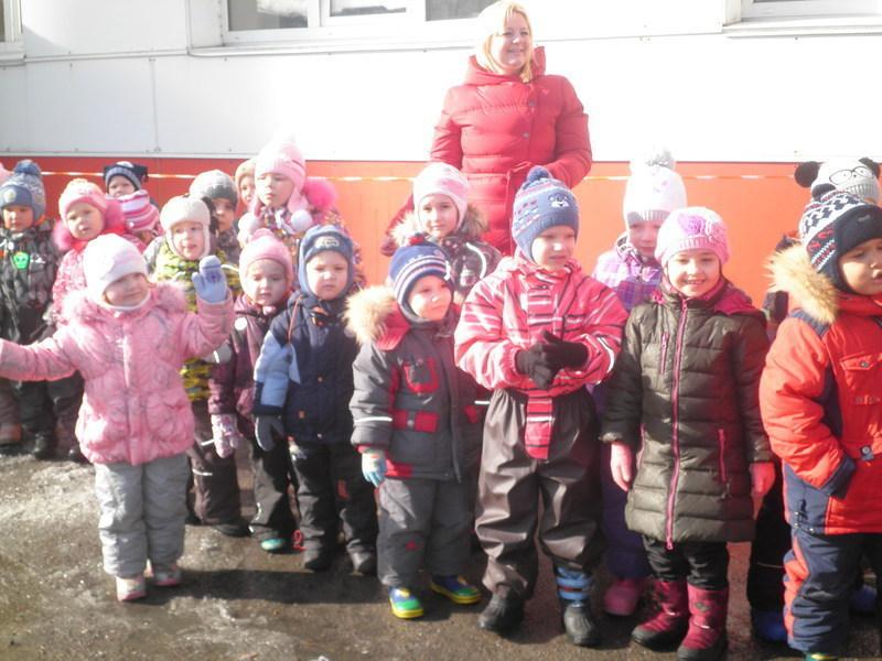 На колесах в детском саду №4 и в школе