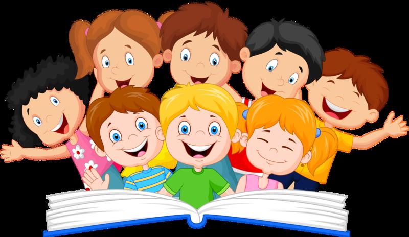 Дню, картинка с изображением книги и ребенка